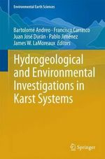 Hydrogeological and Environmental Investigations in Karst Systems 2013