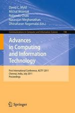 Advances in Computing and Information Technology : Communications in Computer and Information Science