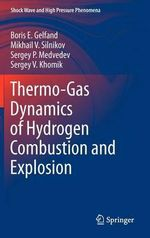 Thermo-Gas Dynamics of Hydrogen Combustion and Explosion : Shock Wave and High Pressure Phenomena - Boris E. Gelfand