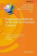 Engineering Methods in the Service-Oriented Context : 4th International Conference, Ssvm 2013, Schloss S...