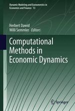 Computational Methods in Economic Dynamics
