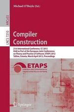 Compiler Construction : 21st International Conference, CC 2012, Held as Part of the European Joint Conferences on Theory and Practice of Softw