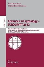 Advances in Cryptology -- Eurocrypt 2012 : Lecture Notes in Computer Science / Security and Cryptology