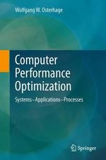 Computer Performance Optimization - Wolfgang W. Osterhage
