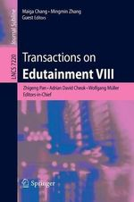 Transactions on Edutainment : VIII