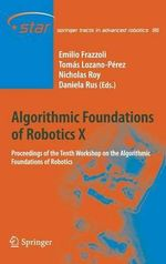 Algorithmic Foundations of Robotics : X