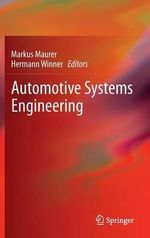 Automotive Systems Engineering : Systems and Components