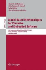 Model-Based Methodologies for Pervasive and Embedded Software : 8th International Workshop, Mompes 2012, Essen, Germany, September 4, 2012, Revised Pap