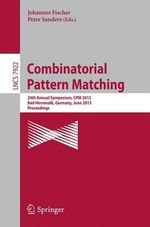 Combinatorial Pattern Matching : 10th International Conference, Kope, Japan, July 1...