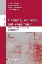 Automata, Languages, and Programming