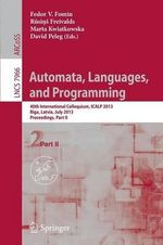 Automata, Languages, and Programming : Ancient & Modern