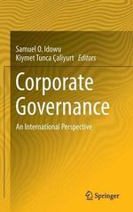 Corporate Governance : An International Perspective