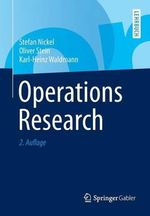 Operations Research - Stefan Nickel