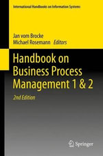 Handbook on Business Process Management : Part 1 & 2