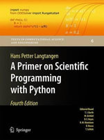 A Primer on Scientific Programming with Python - Hans Petter Langtangen