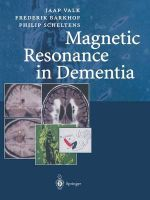 Magnetic Resonance in Dementia - Frederik Barkhof