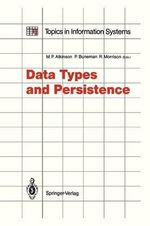 Data Types and Persistence : Implementation for the Mach Microkernel