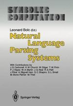 Natural Language Parsing Systems : Politics and Governments of the American States - J.G. Carbonell