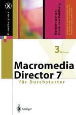 Macromedia Director Fur Durchstarter - Norbert Welsch