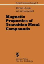 Magnetic Properties of Transition Metal Compounds - Richard L. Carlin