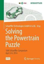 Solving the Powertrain Puzzle : 10th Schaeffler Symposium April 3/4, 2014