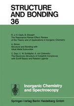 Inorganic Chemistry and Spectroscopy - Xue Duan