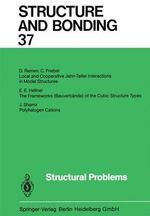Structural Problems : Structure and Bonding - Xue Duan