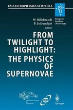 From Twilight to Highlight: the Physics of Supernovae : Proceedings of the Eso/Mpa/Mpe Workshop Held at Garching, Germany, 29-31 July 2002