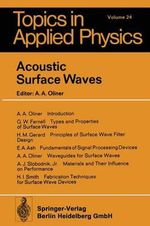 Acoustic Surface Waves