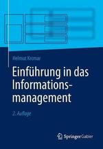 Einfuhrung in Das Informationsmanagement - Helmut Krcmar