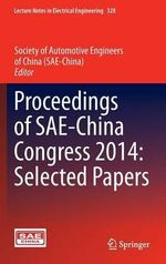 Proceedings of SAE-China Congress 2014 : Selected Papers
