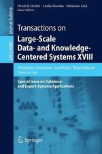 Transactions on Large-Scale Data- and Knowledge-Centered Systems XVII : Special Issue on Database- and Expert-Systems Applications