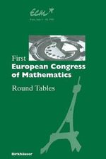 First European Congress of Mathematics, Paris, July 6-10, 1992 : Progress in Mathematics