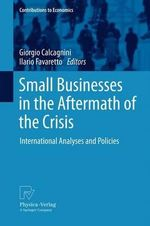 Small Businesses in the Aftermath of the Crisis : International Analyses and Policies