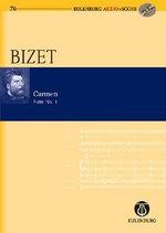 Carmen Suite I (study Score) - Georges Bizet : Eulenburg Audio+score Study Score, Book/CD - Georges Bizet