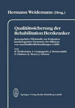 Qualitatssicherung Der Rehabilitation Herzkranker - H Weidemann