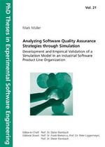 Analyzing Software Quality Assurance Strategies Through Simulation - Muller Mark