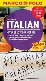 Italian Marco Polo Phrasebook - Marco Polo