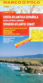 Spanish Atlantic Coast Marco Polo Map : 300 000 - Marco Polo