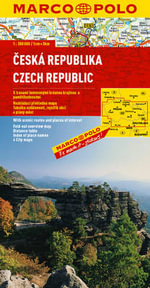 Czech Republic Marco Polo Map - Marco Polo