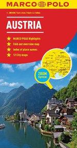 Austria  : Marco Polo Maps - Marco Polo