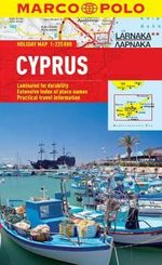 Cyprus Marco Polo Holiday Map - Marco Polo