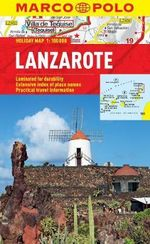 Lanzarote Marco Polo Holiday Map - Marco Polo