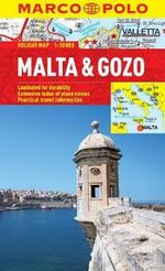 Malta & Gozo Marco Polo Holiday Map - Marco Polo