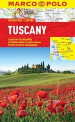 Tuscany Marco Polo Holiday Map - Marco Polo