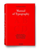 Last copies!!! - Bodini's Manual of Typography - Manuale Tipografico  : Originally Published 1818 - Giambattista Bodoni
