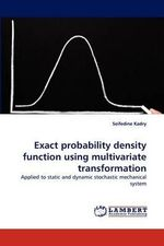 Exact Probability Density Function Using Multivariate Transformation - Seifedine Kadry