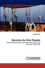 Become as One People - David Crane