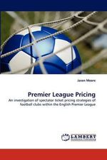 Premier League Pricing - Jason Moore