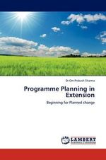 Programme Planning in Extension - Dr Om Prakash Sharma